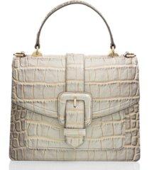brahmin mini francine sterling miravet satchel