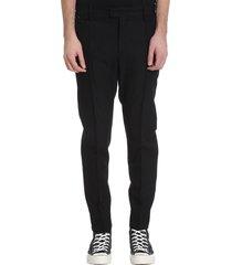 undercover jun takahashi pants in black wool