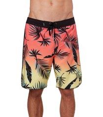 men's o'neill hyperfreak sambisa board shorts, size 32 - pink