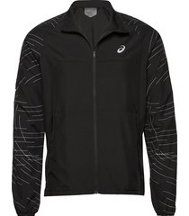 night track jacket outerwear sport jackets zwart asics