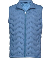d1. the light down gilet vest blauw gant