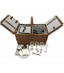 twine cape cod wicker picnic basket
