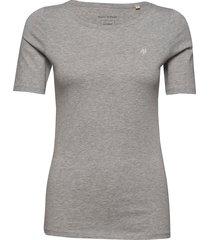 t-shirt short sleeve t-shirts & tops short-sleeved grå marc o'polo