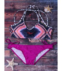 colormix bikini set swimwear for women