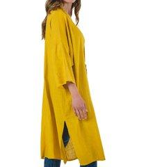 kimono mariposa amarillo guinda