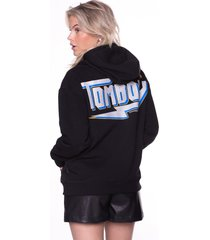 colourful rebel tomboy oversized hoodie