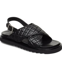 sandals 4190 shoes summer shoes flat sandals svart billi bi