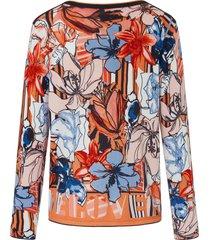trui met boothals en lange mouwen van betty barclay multicolour
