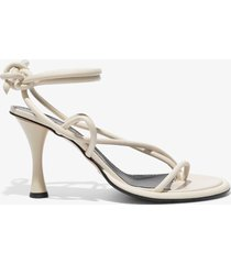 proenza schouler pipe strappy thong sandals white 36