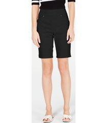inc international concepts pull-on bermuda shorts, created for macy's