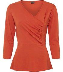 maglia a portafoglio (arancione) - bodyflirt