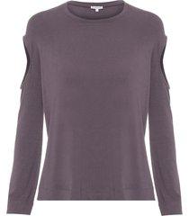 blusa feminina mari i - cinza