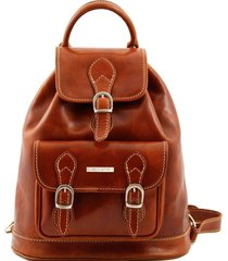 tuscany leather tl9039 singapore - zaino in pelle miele