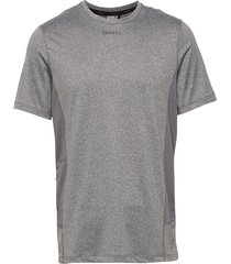 adv essence ss tee m t-shirts short-sleeved grå craft