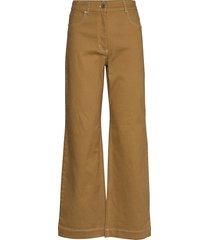 nikka wijde jeans bruin baum und pferdgarten