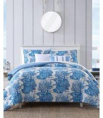 nautica beachway 6-piece comforter bonus set, king bedding