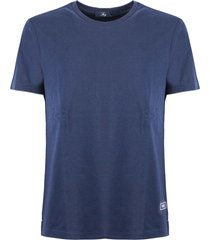 fay blu cotton t-shirt