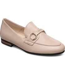 slip on loafers låga skor beige gabor