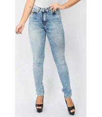 calça feminina jeans blue spot blue emporio alex jeans azul