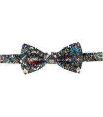 dolce & gabbana stained-glass window bow tie - neutrals