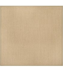 safavieh natural fiber maize and linen 10' x 10' sisal weave square area rug