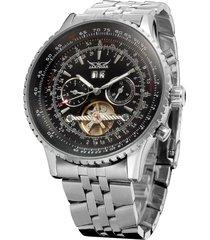 reloj mecánico automático tourbillon hueco reloj-