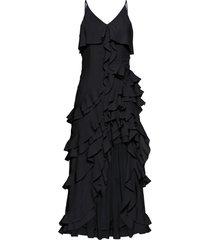 abito con volant (nero) - bodyflirt boutique