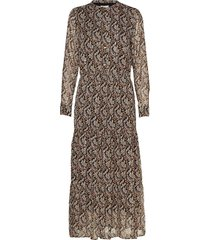 dress maxi dress galajurk multi/patroon sofie schnoor