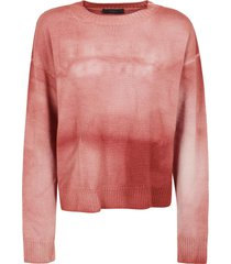 alanui dusty road tie & dye sweater