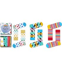 happy socks women's pride gift box, pack of 3