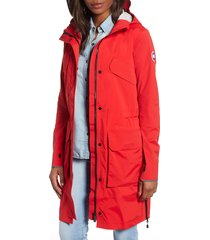 women's canada goose seaboard packable water repellent hooded jacket