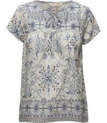 backb blouse blouses short-sleeved blå odd molly