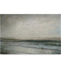 "william trost richards new jersey beach canvas art - 37"" x 49"""