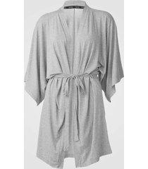 robe calvin klein underwear lettering cinza