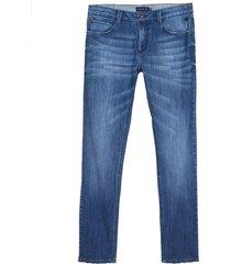 calça dudalina jeans masculina (jeans medio, 64)