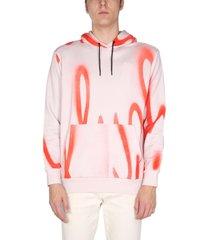 paul smith sweatshirt with spray print
