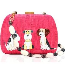 bolsa mimi marie lolita dogs feminina