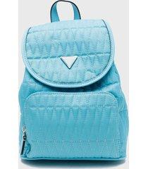 mochila layla backpack turquesa guess