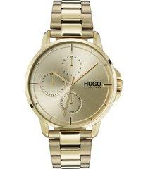men's hugo bracelet watch, 42mm