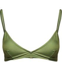 malou bikini top 10725 bikinitop grön samsøe samsøe