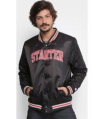 jaqueta starter college color masculina
