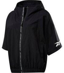 jacka woven short sleeve jacket