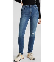 jeans slim high rise denim esprit