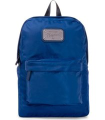 mochila azul tropea agustina