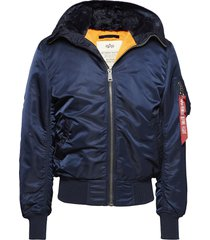 ma-1 hooded bomberjack jack blauw alpha industries
