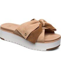 w joanie shoes summer shoes flat sandals beige ugg