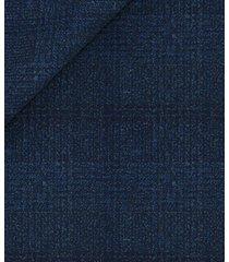 giacca da uomo su misura, reda, reda atto blu principe di galles, autunno inverno | lanieri