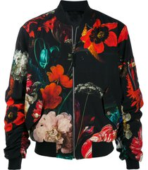 paul smith evening bomber jacket - black