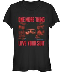 fifth sun silence of the lamb collection women's love your suit short sleeve tee shirt
