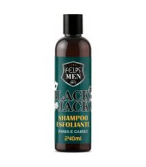 shampoo esfoliante felps men black jack 240ml